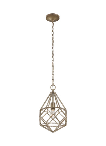 Feiss - One - Light Marquise Mini Pendant - P1313BUS