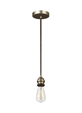 Feiss - One - Light Mini-Pendant - P1367DAGB