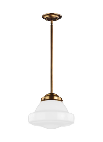 Feiss - One - Light Pendant - P1379AGB