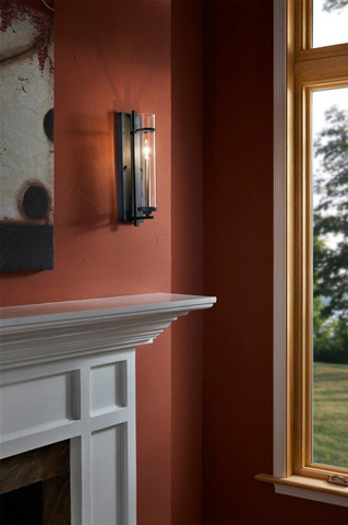 Feiss - One - Light Sconce - WB1560AF/BS