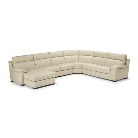 Natuzzi Editions - Leather Reclining Sectional - B939SECT