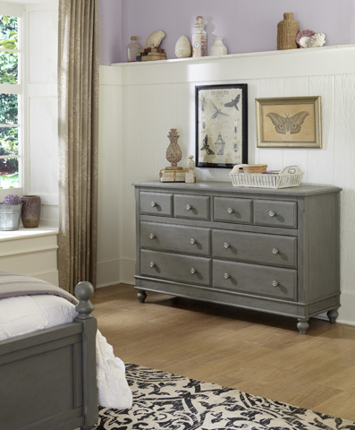 Image of Eight Drawer Dresser