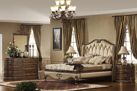 Orleans International - Paris Dresser with Granite Top - 1129-003