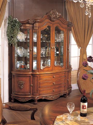 Orleans International - Chardonnay Demilune China Cabinet - 709-003