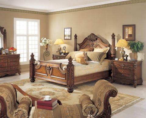 Orleans International - Renaissance Queen Bed - 939-001QC