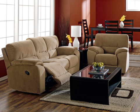 Palliser Furniture - Sofa Recliner with Table - 46077-52