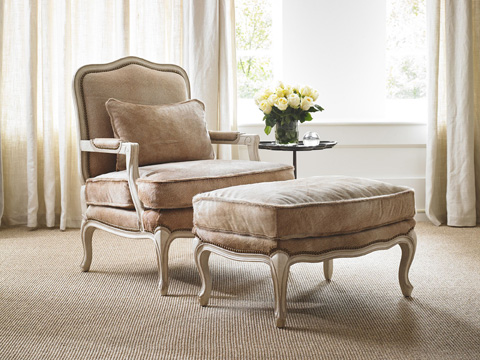 Pearson - Exposed Wood Accent Chair - 1436-00