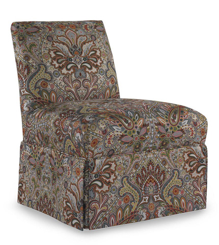 Pearson - Skirted Armless Accent Chair - 233-00