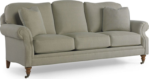 Pearson - Rolled Arm Sofa with Casters - 2418-30