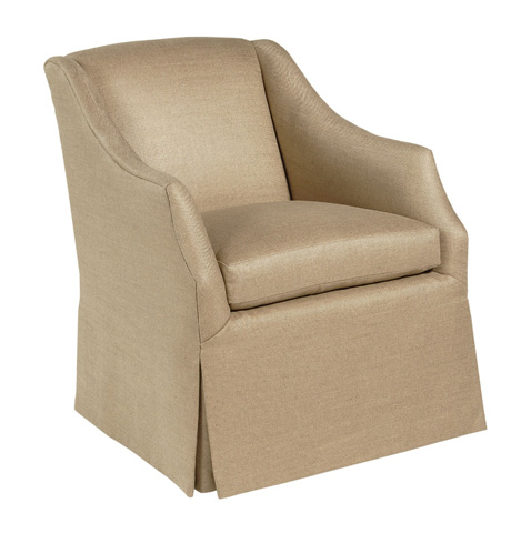 Pearson - Skirted Slope Arm Chair - 641-00