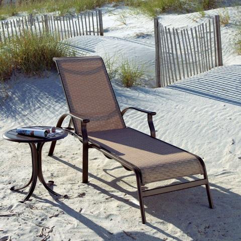 Pelican Reef - Stackable Sling Chaise Lounge - PJO-1001-ESP-CL