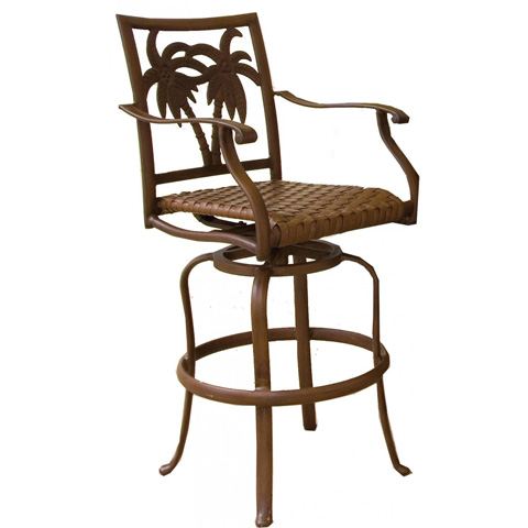 Image of Palm Bay Patio Swivel Barstool