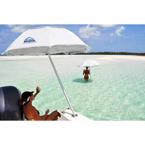 Pelican Reef - 6' Round Boating and Beach Umbrella 4 Piece Kit - HS-200
