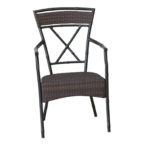 Image of Panama Jack Rum Cay Stackable Arm Chair