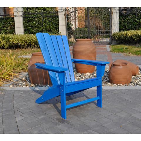 Pelican Reef - Panama Jack Blue Adirondack Chair - PJO-4001-BLU-AD