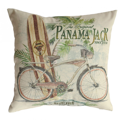 Image of Panama Jack Beach Comber Throw Pillow