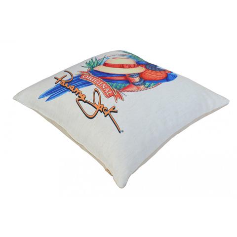 Pelican Reef - Panama Jack Panama Parrot Throw Pillow - PJO-9001-PP-TP