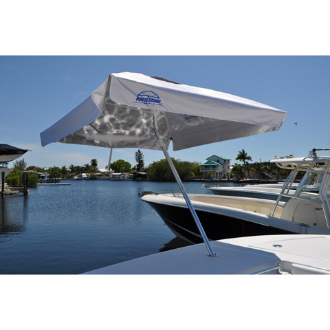 Image of 8' Square Boating and Beach Umbrella 4 Piece Kit
