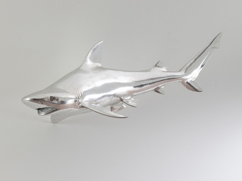 Phillips Collection - Silver Leaf Black Tip Reef Shark - PH63680