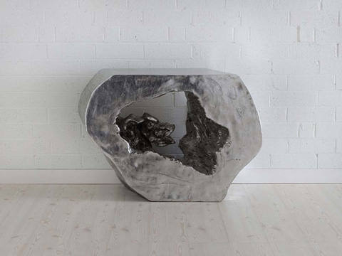 Phillips Collection - Plateada Hollow Console - PH64208