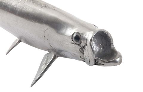 Phillips Collection - Tarpon Fish in Aluminum - PH67449