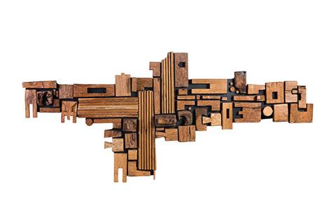 Phillips Collection - Asken Block Wall Art - ID68830