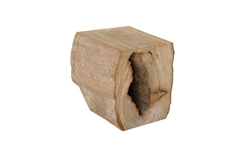 Phillips Collection - Petrified Wood Stool - ID74208