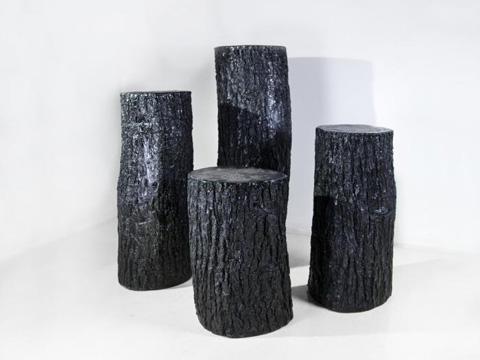 Phillips Collection - Bark Pedestal - PH61023