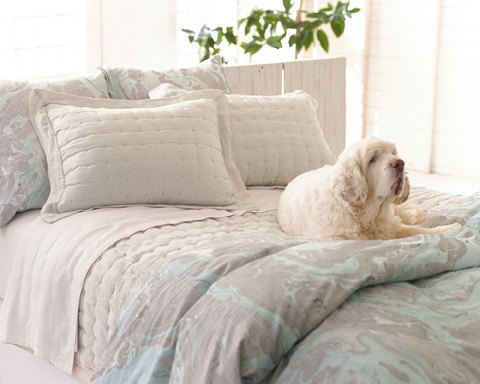 Pine Cone Hill, Inc. - Brussels Quilted Sham - European - Q260SE