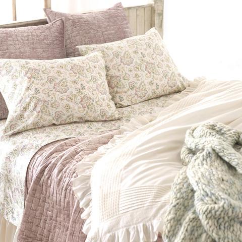 Pine Cone Hill, Inc. - Chunky Knit Mist Throw Blanket - CKMTHR