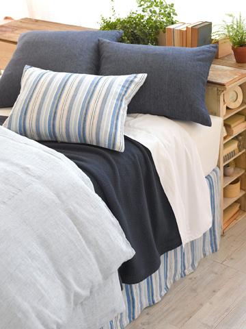 Pine Cone Hill, Inc. - Honfleur Linen Bed Skirt - King - HLBSK