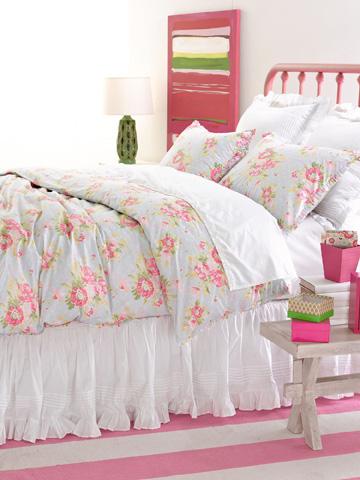 Pine Cone Hill, Inc. - Louisa White Bed Skirt - King - SELSBSK