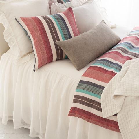 Pine Cone Hill, Inc. - Savannah Linen Gauze Ivory Bedspread - King - SAIBCK