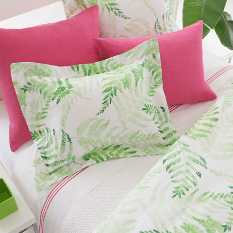 Pine Cone Hill, Inc. - Ferns Duvet Cover in King - FERDCK
