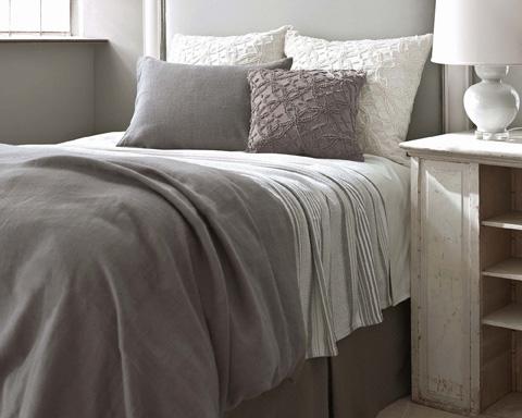 Pine Cone Hill, Inc. - Gradation Ticking Blanket in Full/Queen - GRTQ