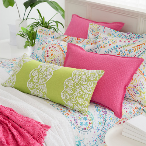 Pine Cone Hill, Inc. - Serena White Matelassé Coverlet in King - M23WK