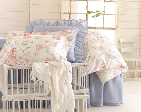 Pine Cone Hill, Inc. - Mirabelle Duvet Cover in Full/Queen - MIRDCQ
