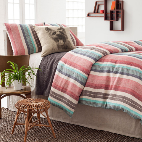 Pine Cone Hill, Inc. - Tailored Linen Bed Skirt in King - TLBSK