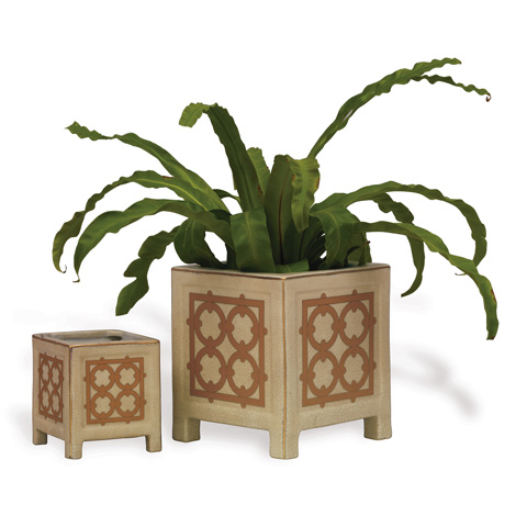 Port 68 - Viceroy Small Planter in Latte - ACBS-092-13