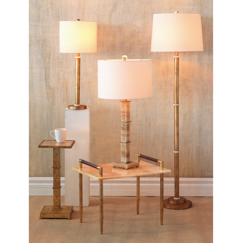 Port 68 - Set of Two Diana Gold Buffet Lamps - LPAM-213-03
