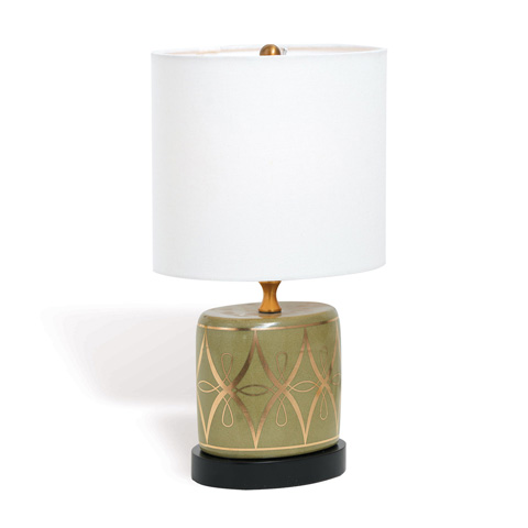 Port 68 - Zelda Olive Mini Lamp - LPAS-183-03