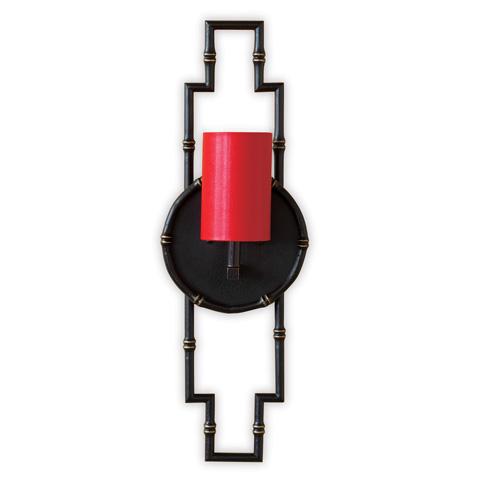 Port 68 - Baldwin Black Sconce - ACFS-223-03