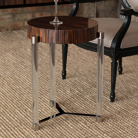 Port 68 - Maxwell Brown Veneer Accent Table - AFDS-253-07