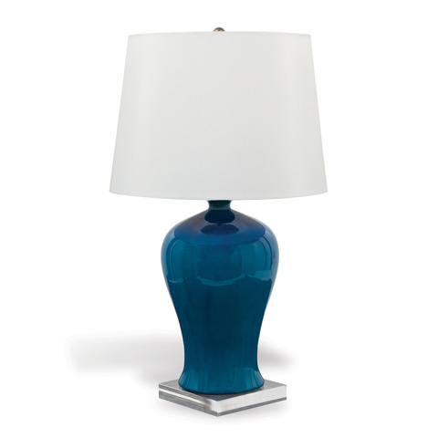 Port 68 - Marilyn Turquoise Lamp - LPAS-245-01