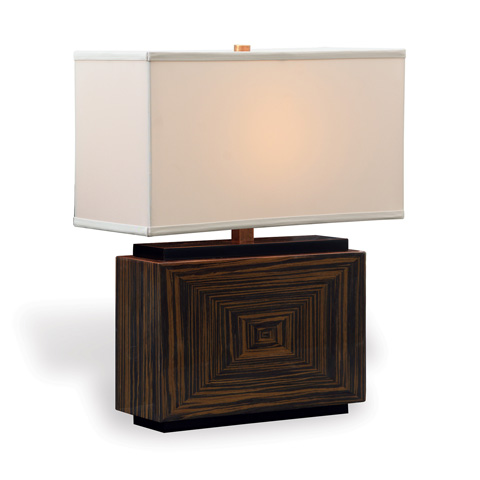 Port 68 - Dylan Brown Rectangle Lamp - LPAS-250-07