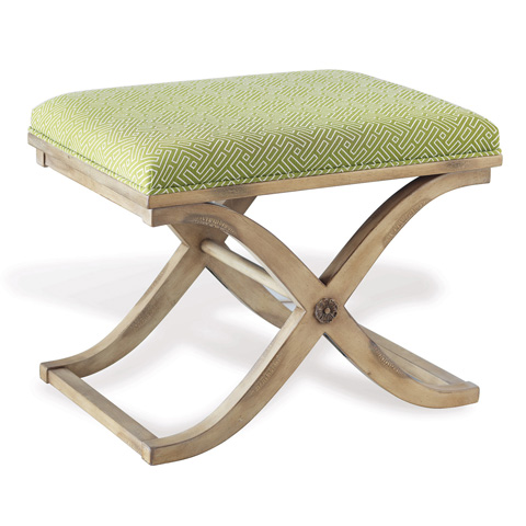 Port 68 - Alex Bench in Antiqued Ivory Finish - AFBS-040-02