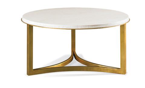 Precedent - Niko Cocktail Table in Travertine - 368-830