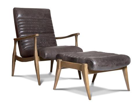 Precedent - Erik Leather Ottoman - L3209-O1