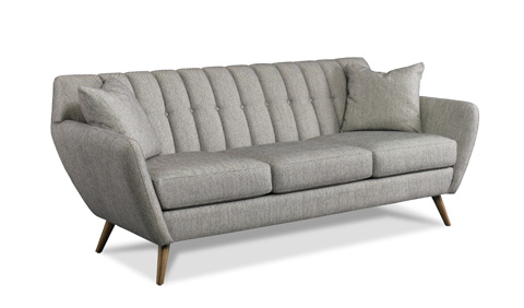 Image of Isaac Channel Back Sofa