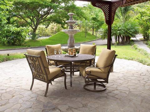 Castelle - Veracruz Cushion Dining Chair - 4005T